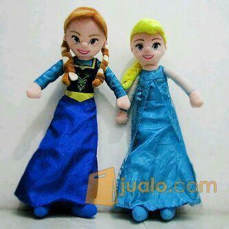 BonekaMainan anak bordir tokoh filmkartun Frozen princess Ana&Elsa SNI (4347805) di Kota Jakarta Selatan