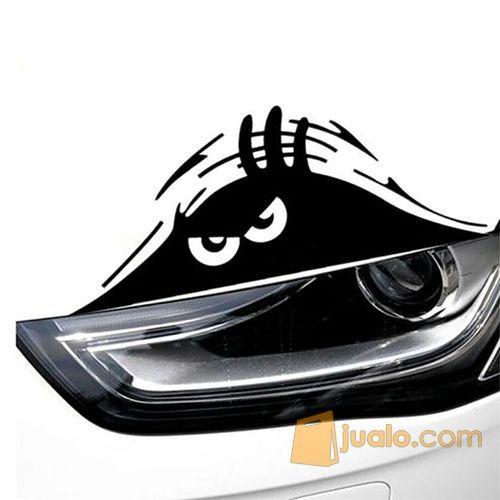 Stiker Mobil Bentuk Sticker Monster Mengintip Monster Peeking