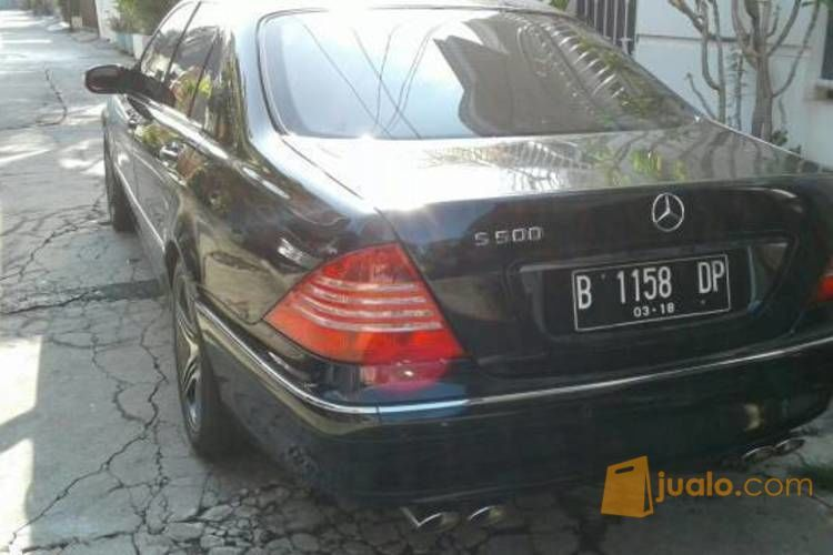 Dijual Mercedes S280 AT Hitam Sunter, Jakarta Utara (4675879) di Kota Jakarta Utara