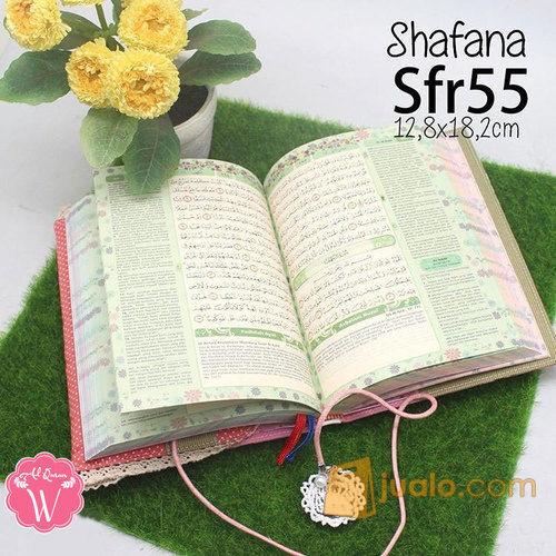 Al Quran Cantik Pelangi Shafana Pink Polkadot Bonus Tasbih Digital Kab Kuningan Jualo