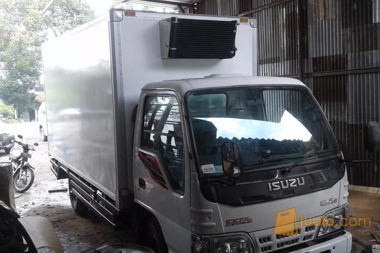 Karoseri Box Fiberglass Freezer Box Thermo Box Isuzu Elf Long 4 Roda Kab Sidoarjo Jualo