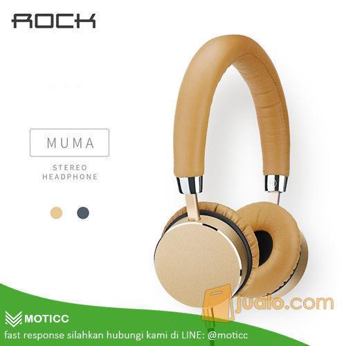 Rock Muma Stereo Headphone Hands-free Calls with Mic Audiophile (5040331) di Kota Tangerang