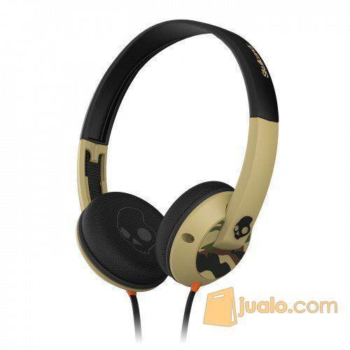 Skullcandy Uprock W/Mic 1 On-Ear Camo/Slate ORI (5121273) di Kota Jakarta Barat