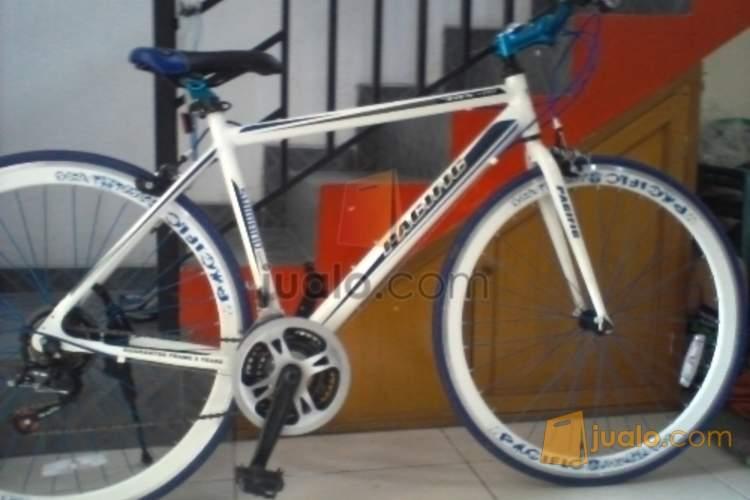 Sepeda Fixie Pacific trx2707 hybrid Malang Jualo