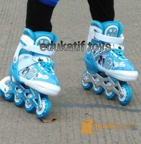 Sepatu Roda Roller Blade Anak Biru Kab Bekasi Jualo