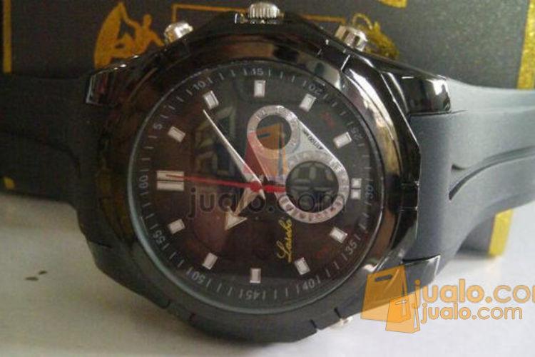 Jam tangan double Time Lasebo 809 karet (548237) di Kab. Kep. Seribu