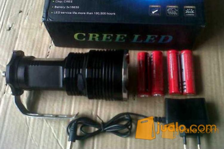 Senter Led T6 4 batree No zoom (super Terang) (552713) di Kab. Kep. Seribu
