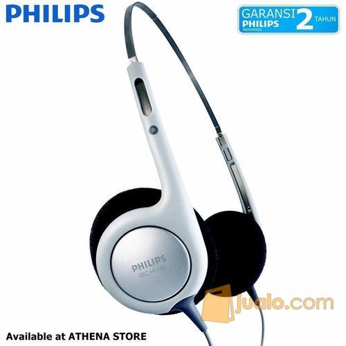 PHILIPS SHL 140 On Ear Lightweight Headphone with Bass Vent - White (5534155) di Kab. Bekasi