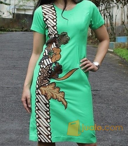 Ratihmaya dress batik mode gaya wanita 5697711