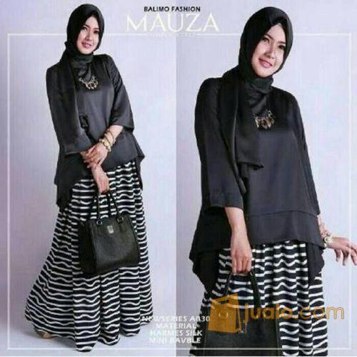 Mauza set baju atas mode gaya wanita 5698835