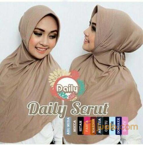 Daily serut hijab in mode gaya wanita 5699127