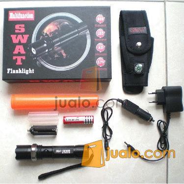 senter Police Swat Magnet 30.000w (Fulset) (570000) di Jakarta
