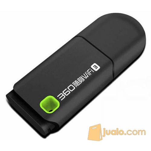 Portable 360 3rd Gen Mini USB Wireless Router Wifi Adapter 300Mbps (5703711) di Kota Bogor