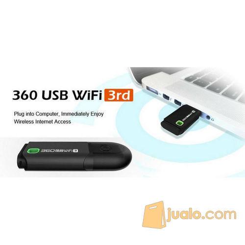 Portable 360 3rd Gen Mini USB Wireless Router Wifi Adapter 300Mbps (5703713) di Kota Bogor