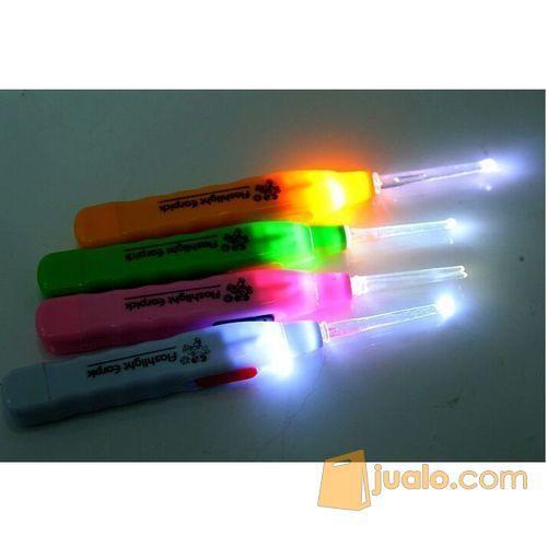 Pembersih Telinga / LED Flashlight Earpick Clean (5704815) di Kota Bogor