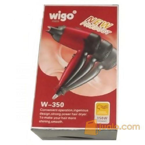 Wigo W-350 Hair Dryer (Pengering Rambut) - Merah (5706035) di Kab. Bekasi