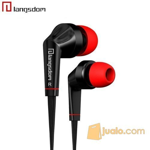 Earphones Stereo Bass 3.5mm Jack Noodle Cable with Microphone (5707059) di Kota Bogor