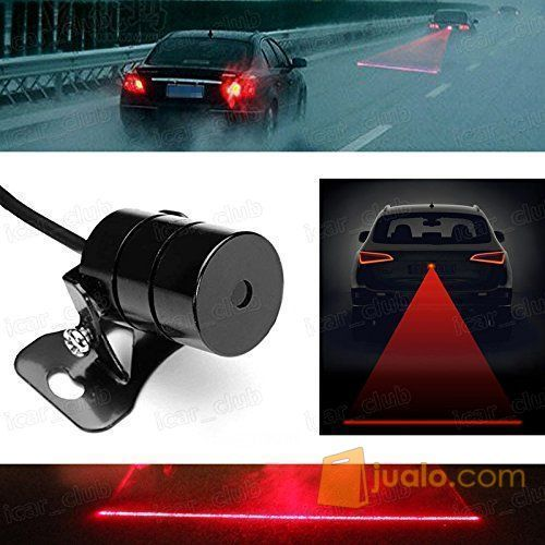Car Universal Aluminium Rear Laser Fog Light Taillight (5707333) di Kota Bogor