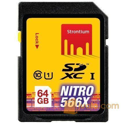 Strontium Nitro 566X SDXC UHS-1 85MB/s Class 10 64GB - SRN64GSDU1 (5708027) di Kota Jakarta Barat