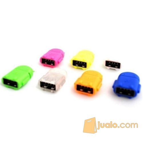 Android Robot Micro USB OTG Smart Card Reader Connection Kit konektor (5709621) di Kota Jakarta Barat