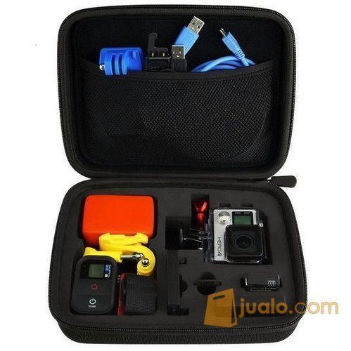Tas/ Case Kamera Action/ Sport/ Gopro/ SJCam Ukuran M (5712335) di Kota Lubuk Linggau