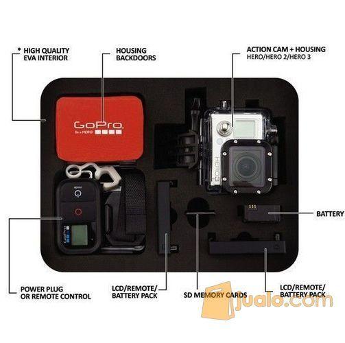Tas/ Case Kamera Action/ Sport/ Gopro/ SJCam Ukuran M (5712351) di Kota Lubuk Linggau