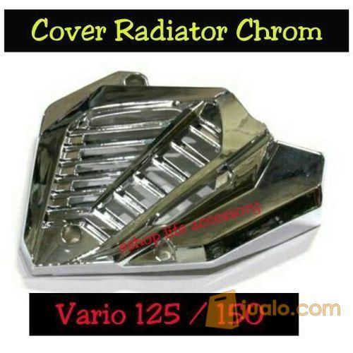 Aksesoris Cover tutup radiator honda vario 125 150 iss esp pgmfi (5714535) di Kota Jakarta Barat