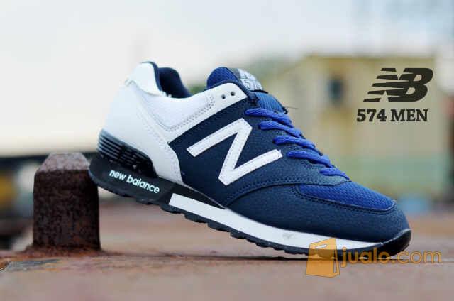sepatu sneakers casual keren gaya main kuliah sekolah new balance 574 (5718165) di Kab. Bandung