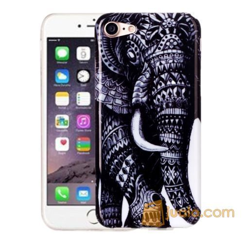 MOTIF SOFT TPU JELLY CASE IPHONE 7 ELEPHANT (5718739) di Kota Jakarta Barat
