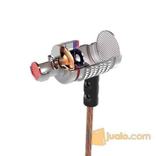 Earphones Knowledge Zenith HiFi Pure Sound with Microphone - KZ-EDR2 (5719841) di Kota Bogor