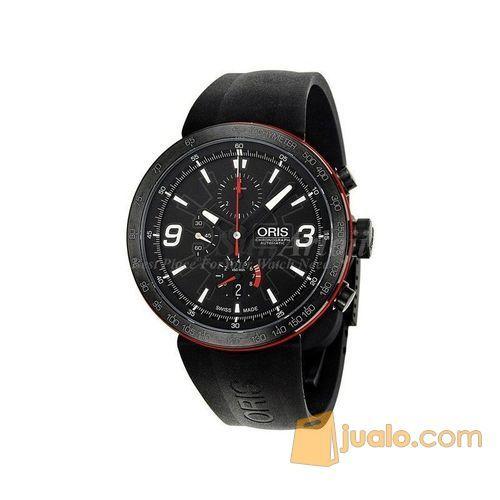 ORIS TT1 Black Dial Rubber Men's Watch 674 7659 4764RS (5721003) di Kota Jakarta Barat