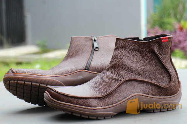 PROMO LEBARAN sepatu kerja formal casual polisi intel kickers zipper (5722645) di Kab. Bandung