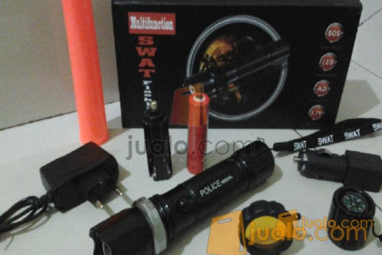 Senter police 5 mode lensa kuning standar 98.000wt (573254) di Jakarta