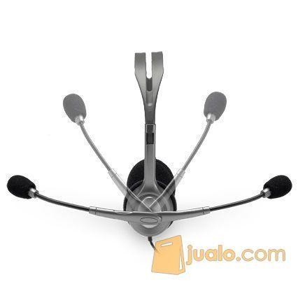 Logitech Stereo Headset - H111/H110 (5789551) di Kota Jakarta Barat