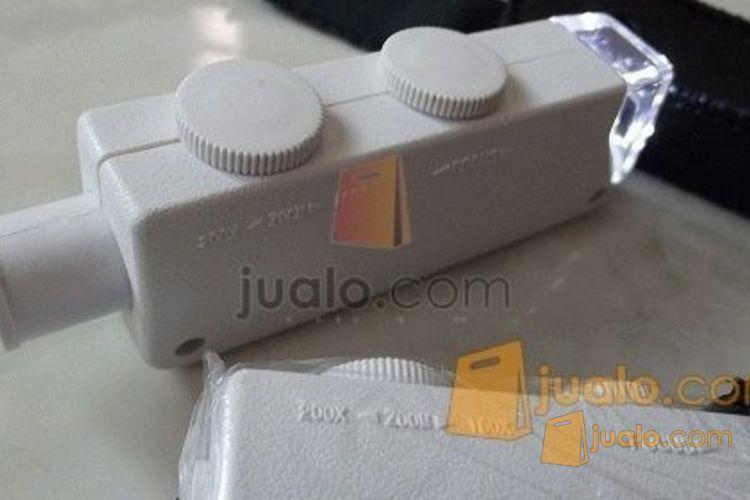 Mikroskop mini portable 160-200x (ada led) (583029) di Jakarta