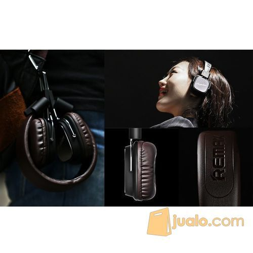 Remax Profesional Monitoring Headphone with Microphone Headset dan Mic (5846089) di Kota Jakarta Barat