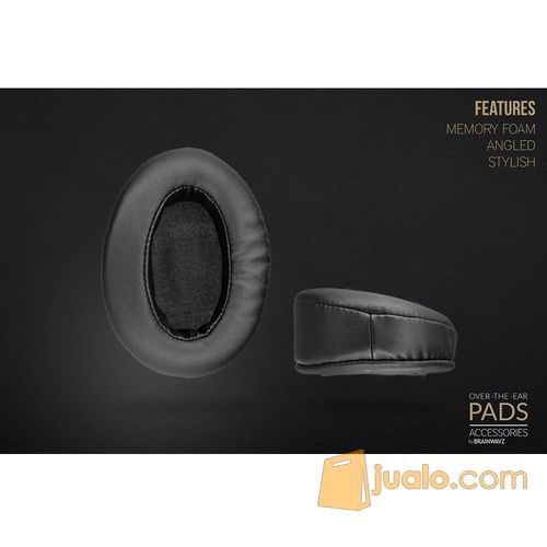 Brainwavz Over The Ear Angled Pads Leather Material for Headphones (5865135) di Kota Jakarta Barat