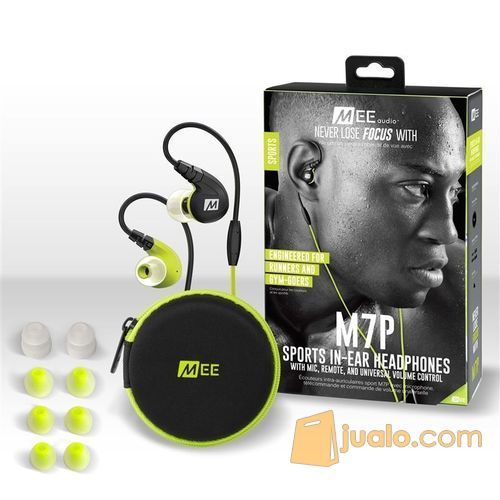 MEElectronics M7P Secure-Fit Sports In-Ear Headphones with Mic Remote (5871527) di Kota Jakarta Barat
