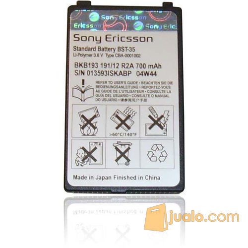 Sony Ericsson Battery   Battery BST-35 Original (5873671) di Kota Jakarta Barat