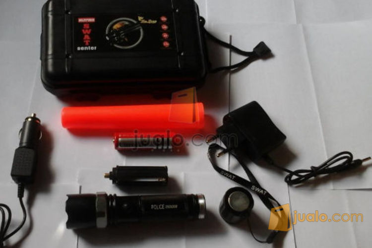 Senter Police Magnet Zoom 5 mode Hardcase (587426) di Kota Jakarta Pusat