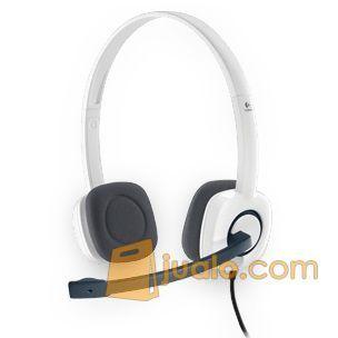 Logitech Stereo Headset - H150 stereo sound microphone headphone 3.5mm (5877385) di Kota Jakarta Barat