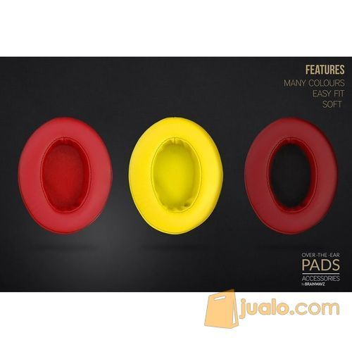 Brainwavz Over The Ear Pads Leather Material for Headphones (5896451) di Kota Jakarta Barat
