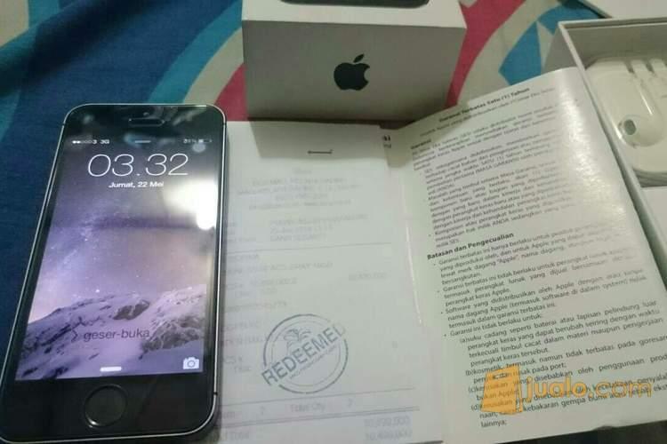 Iphone 5s 16GB Grey Ex Garansi Resmi Ibox SES Mulus 98% ...