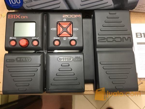 Efek Gitar Bass Zoom B1x On Original Include Adapto (5983783) di Kota Jakarta Barat