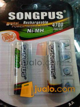 Batre charger AA / 14500 4700Mah song plus (599821) di Kota Jakarta Pusat