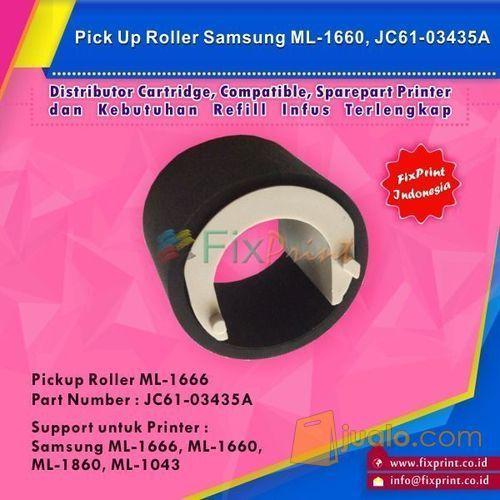 Pick Up Roller Samsung ML1666 ML1660 ML 1860 ML1043, OEM Part JC61-034 (6008875) di Kota Surabaya
