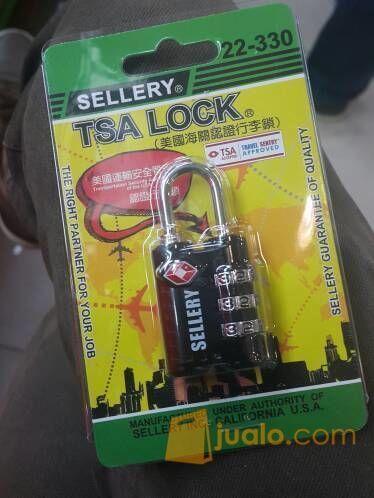 Gembok kunci pengaman Koper Sellery 10.000 setting (6010541) di Kota Jakarta Barat