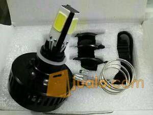 Lampu LED 4 Mata Kuning Warm White titik sisi Headlamp motor (6016729) di Kota Jakarta Barat