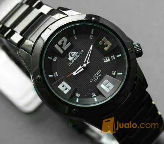 Jam Tangan Pria Quicksilver Cisero Quick Silver Hitam (6020203) di Kota Jakarta Barat