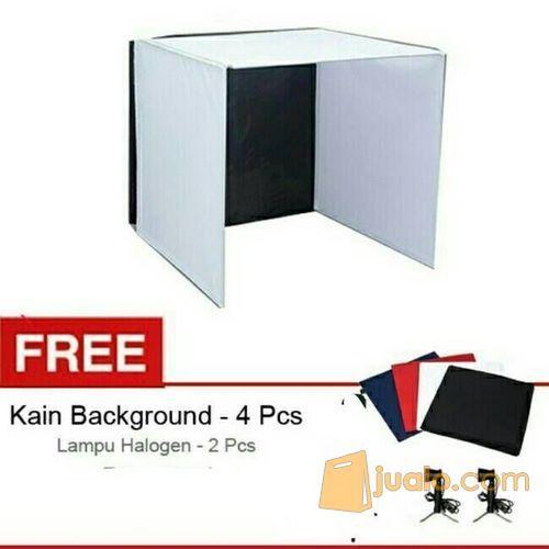 Paket Mini Studio Box + Light (6022359) di Kota Lubuk Linggau